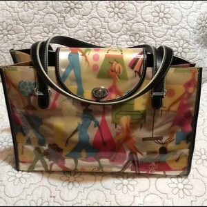 MAXX New York colorful satchel